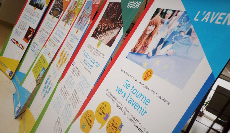 Nouvelle exposition disponible à la Maison de l'Europe en Mayenne