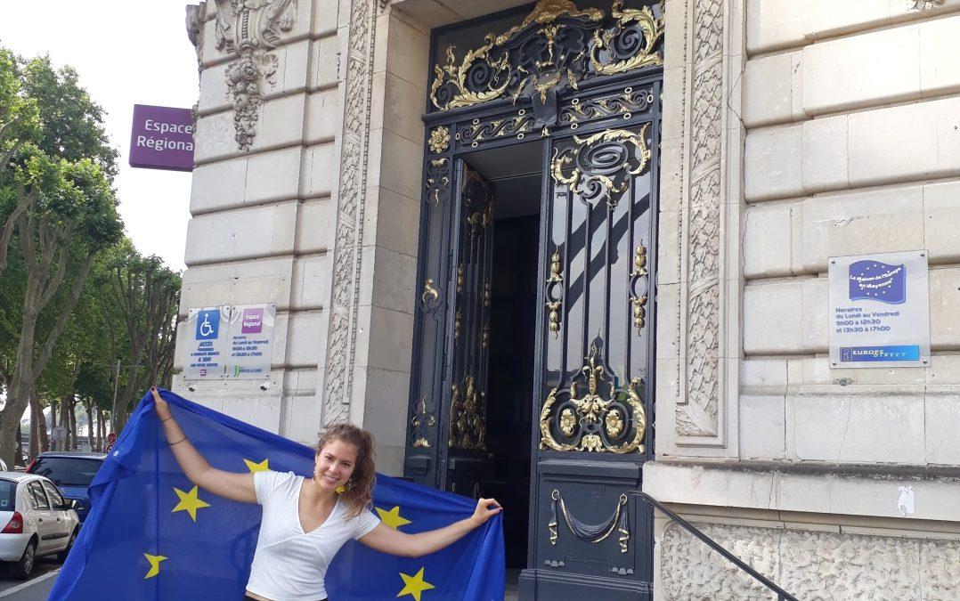Témoignage de Marisa, après 10 mois de SVE à la Maison de l'Europe en Mayenne