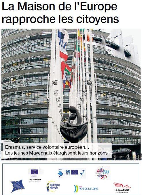 Edition spéciale : La Maison de l'Europe rapproche les citoyens