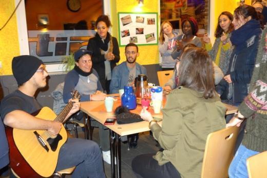 Offre: rencontre de jeunes franco-germano-tunisienne