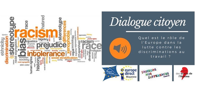 Dialogue citoyen : emploi et discrimination, quel est le rôle de l'Europe ?
