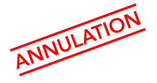 Annulation AG du 8 avril