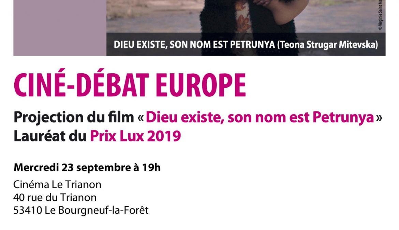 Mercredi 23 septembre, 19h Ciné-débat Europe :»Dieu existe, son nom est Petrunya»