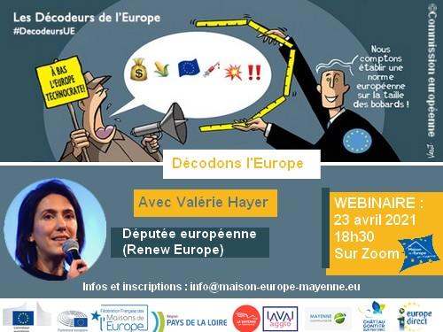 Webinaire sur les décodeurs de l'Europe – 23 avril