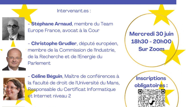 Webinaire – L'Union européenne et la transition numérique : quelles conséquences pour les citoyens et les territoires